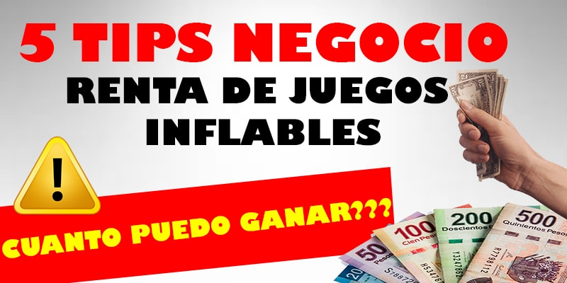 tips de negocio inflables